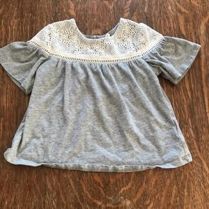 Baby Gap bell sleeved top size 4